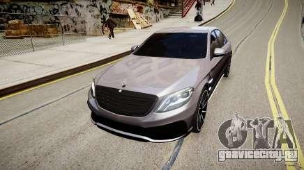 Mercedes-Benz S63 AMG W222 WALD для GTA 4