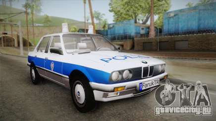 BMW 323i E30 Turkish Police для GTA San Andreas