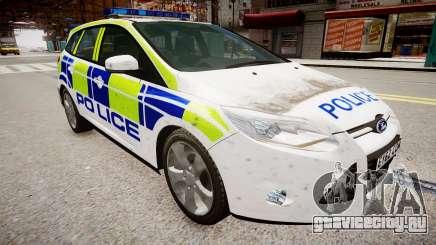 Ford Focus police UK для GTA 4