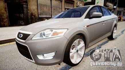 Ford Mondeo 2009 для GTA 4