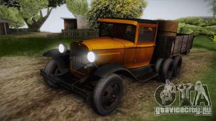 ГАЗ-ААА 1934 IVF для GTA San Andreas