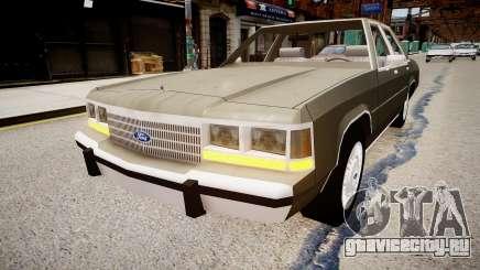 Ford LTD Crown Victoria 1989 для GTA 4