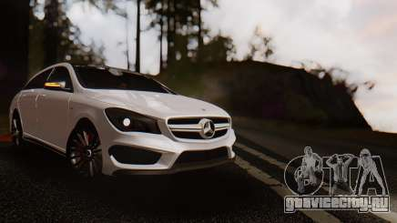 Mercedes-Benz CLA45 AMG Shooting Brakes Boss для GTA San Andreas