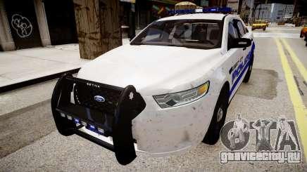 Ford Interceptor Liberty City Police для GTA 4