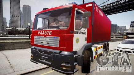 MAN Tallinn Mustamäe Chemical Response Unit для GTA 4