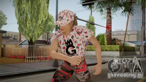 GTA Online DLC Import-Export Female Skin 2 для GTA San Andreas