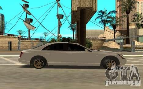 Maybach для GTA San Andreas вид слева
