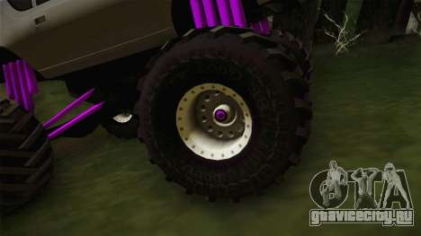 AMC Gremlin X 1973 Monster Truck для GTA San Andreas вид сзади