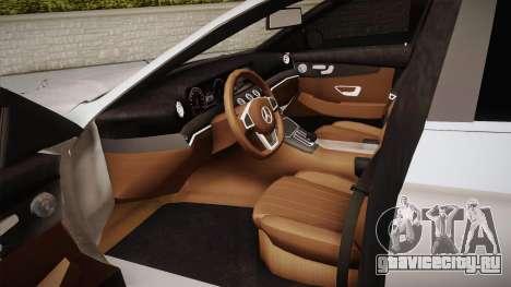 Mercedes-Benz E350e 2016 для GTA San Andreas вид изнутри