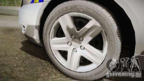 Chevrolet Impala Police Malaysia для GTA San Andreas вид сзади слева
