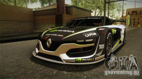 Renault Sport R.S.01 PJ2 для GTA San Andreas вид снизу
