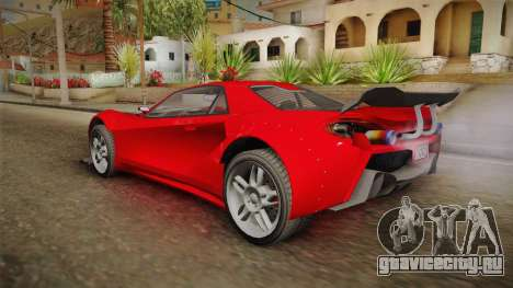 GTA 5 Progen Itali GTB Custom для GTA San Andreas вид слева