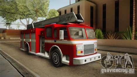 Driver: PL - Firetruck для GTA San Andreas вид справа