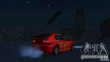 2003 Seat Leon Cupra R Series I для GTA San Andreas вид справа