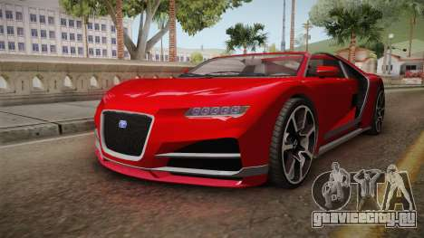 GTA 5 Truffade Nero Cabrio для GTA San Andreas