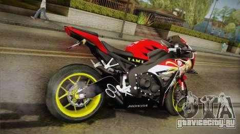 Honda CBR1000RR Yami To Love-Ru Itansha для GTA San Andreas вид слева