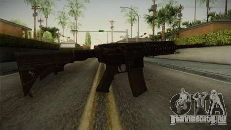 CoD 4: MW - M4A1 Remastered v3 для GTA San Andreas третий скриншот