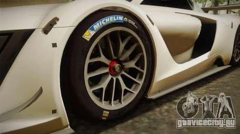 Renault Sport R.S.01 PJ2 для GTA San Andreas вид сзади