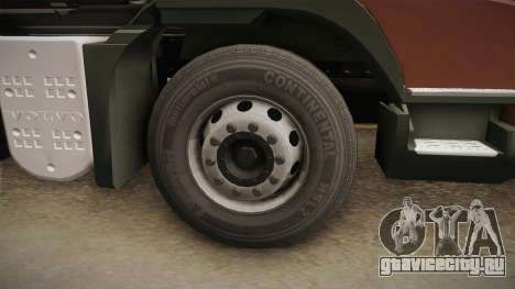 Volvo FMX Euro 5 8x4 Dumper Low для GTA San Andreas вид сзади