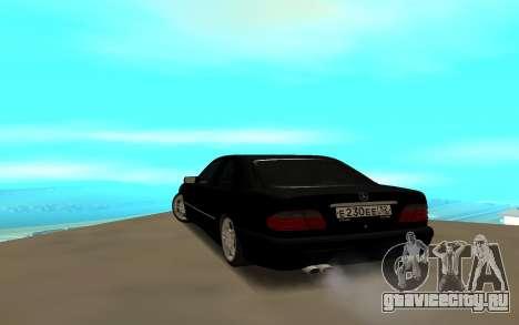 Mercedes-Benz E230 для GTA San Andreas вид слева