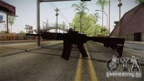 CoD 4: MW - M4A1 Remastered v2 для GTA San Andreas третий скриншот