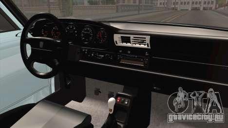 Porsche 993 RWB Rotana для GTA San Andreas вид изнутри