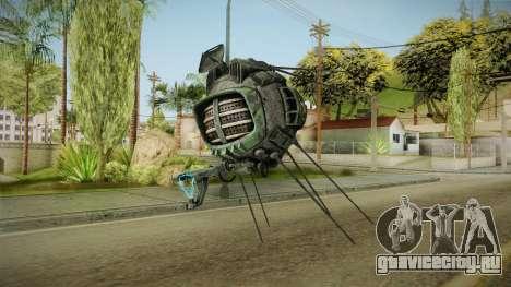 Fallout New Vegas DLC Lonesome Road - ED-E v4 для GTA San Andreas второй скриншот