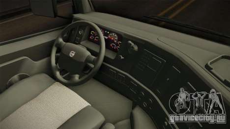 Volvo FMX Euro 5 8x4 Dumper Low для GTA San Andreas вид изнутри
