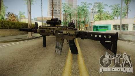 M4 v1 для GTA San Andreas второй скриншот
