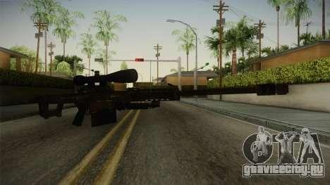 CoD 4: MW - Barrett M82 Remastered для GTA San Andreas второй скриншот
