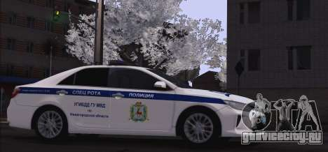 Toyota Camry для ГИБДД для GTA San Andreas