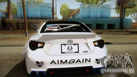 Scion FR-S Aimgain для GTA San Andreas вид сверху