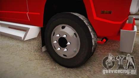 Dodge 300 для GTA San Andreas вид сзади