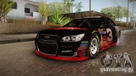 Chevrolet SS Nascar 3 Dow 2017 для GTA San Andreas