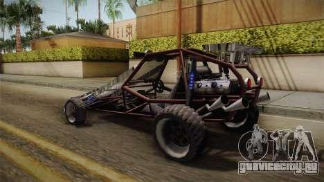 Bandito Ramp Car для GTA San Andreas вид слева