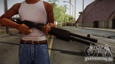 Remington 870 Silver для GTA San Andreas третий скриншот