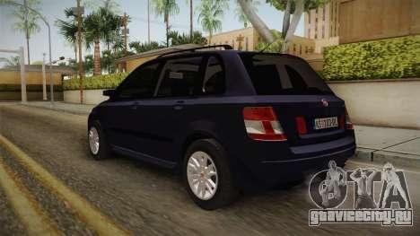 Fiat Stilo для GTA San Andreas вид сзади слева