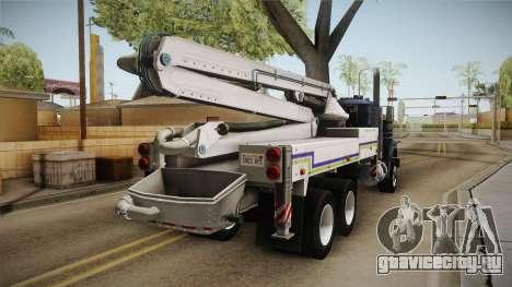 Mack RD690 Pump 1992 v1.0 для GTA San Andreas вид слева