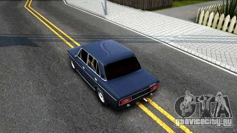 ВАЗ 2106 v1 для GTA San Andreas вид сзади