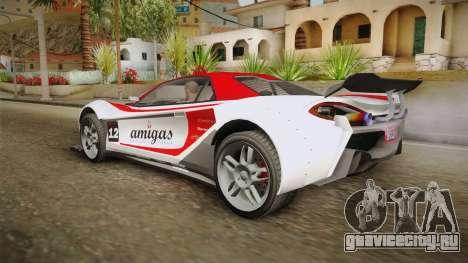 GTA 5 Progen Itali GTB Custom для GTA San Andreas двигатель