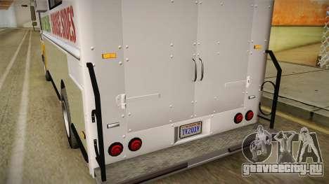 GTA 5 Brute Taco Van IVF для GTA San Andreas салон