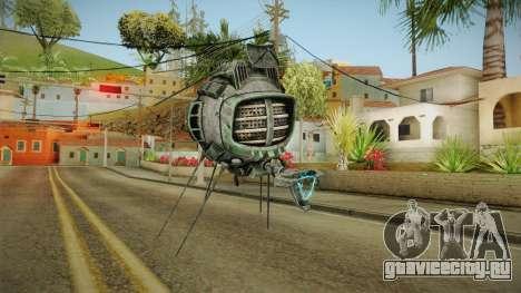Fallout New Vegas DLC Lonesome Road - ED-E v4 для GTA San Andreas