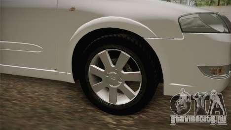 Renault Samsung SM3 CE 2010 для GTA San Andreas вид изнутри