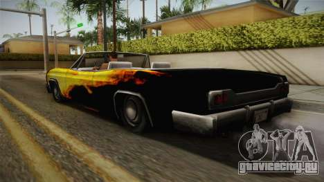 3 New Paintjobs for Blade для GTA San Andreas вид изнутри
