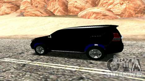Toyota Land Cruiser Prado 150 2016 для GTA San Andreas вид справа