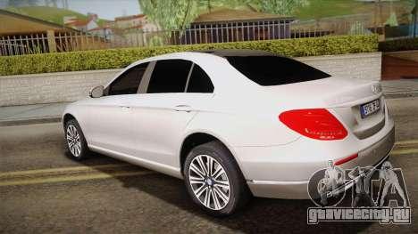 Mercedes-Benz E350e 2016 для GTA San Andreas вид слева