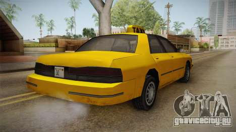 Vapid Stanier 1998 для GTA San Andreas вид сзади слева