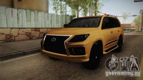 Lexus LX570 S для GTA San Andreas