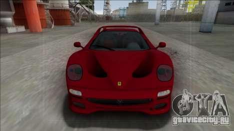 Ferrari F50 FBI для GTA San Andreas вид справа