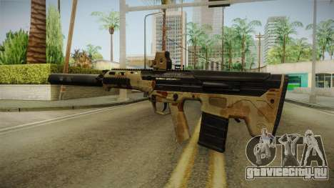 DesertTech Weapon 2 Camo Silenced для GTA San Andreas третий скриншот